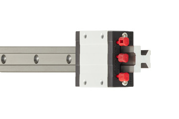 drylin® T linear guide, complete system, carriage with automatic clearance adjustment