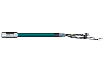 readycable® encoder cable acc. to LTi DRIVES standard KM3-KSxxx, base cable, PVC 7.5 x d