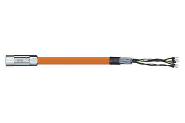 readycable® motor cable acc. to Parker standard iMOK56, base cable PUR 10 x d