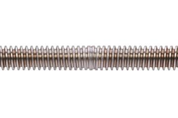 drylin® trapezoidal lead screw, reverse, C15 1.0401 steel