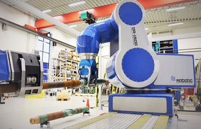Robot for drilling platform