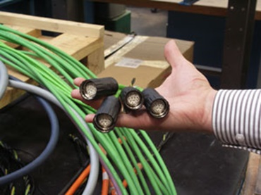 Picture of measuring system cable for the new generation of control units.